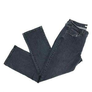 Levi's 505 Straight Leg Jeans Size 10 Stretch Dark